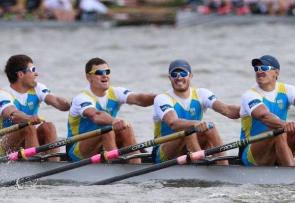 Мужская сборная Украины заняла 6-е место по академической гребле в Рио