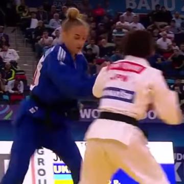 Украинка стала самой молодой чемпионкой мира по дзюдо