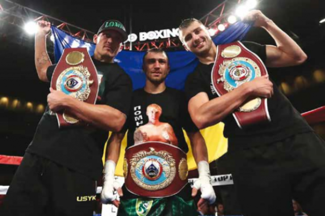 На смену братьям Кличко: как украинцы покоряют профессиональный ринг
