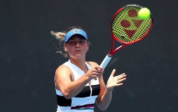 Костюк не сумела пробиться в основу Australian Open