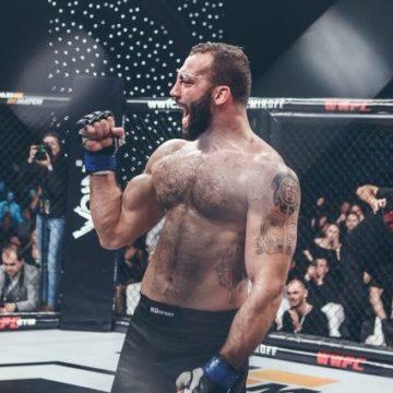 Роман Долидзе из WWFC перешел во всемирно известный промоушен UFC
