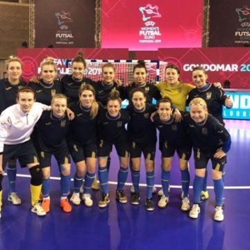 Женская сборная Украины уступила Португалии в полуфинале чемпионата Европы