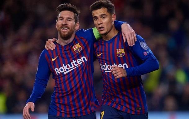 Барселона прошла Лион в Лиге чемпионов, заставив фанатов понервничать