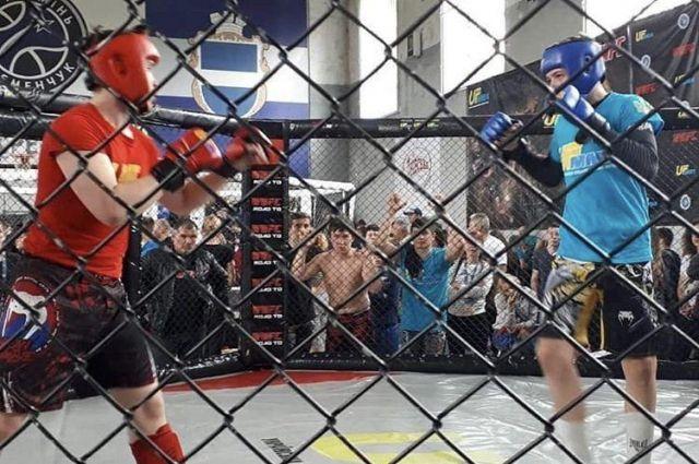 В Кременчуге завершился турнир по смешанным боевым искусствам