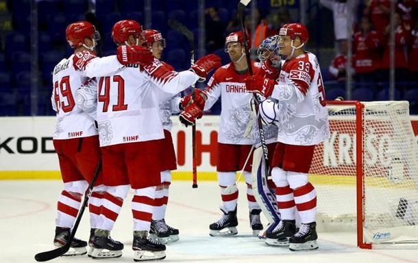 ЧМ по хоккею: Дания разгромила Великобританию, Латвия разобралась с Италией
