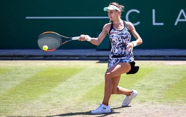 Цуренко начала травяной сезон с победы над Кристиной Плишковой