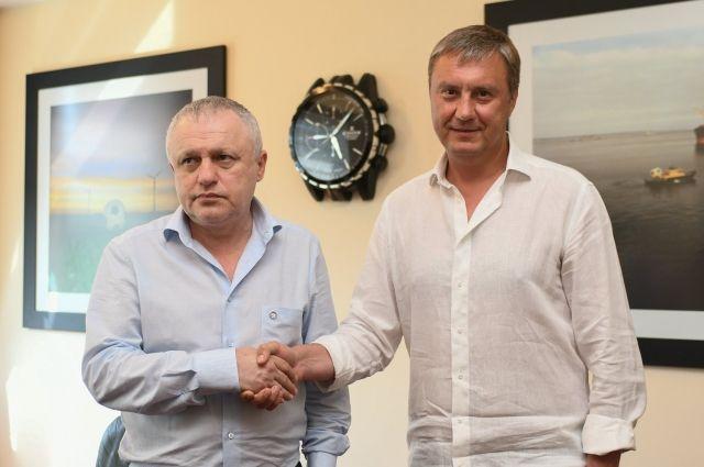 «Динамо» продлило контракт с Хацкевичем на два года